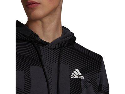 adidas Herren Sportswear Graphic Hoodie Schwarz