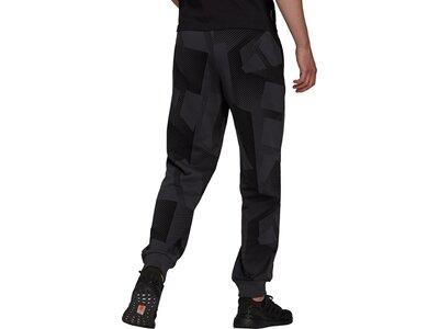 adidas Herren Sportswear Graphic Hose Schwarz
