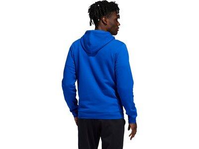 adidas Herren You Feel Me Hoodie Blau