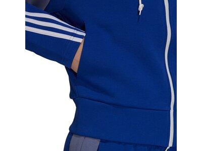 adidas Damen Sportswear Colorblock Full-Zip Jacke Blau