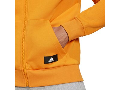 adidas Herren Sportswear Future Icons 3-Streifen Kapuzenjacke Grau