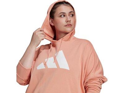adidas Damen Sportswear Future Icons Hoodie – Große Größen Pink