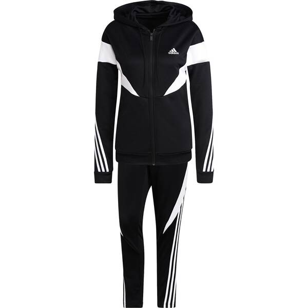 adidas Damen Sportswear Colorblock Trainingsanzug