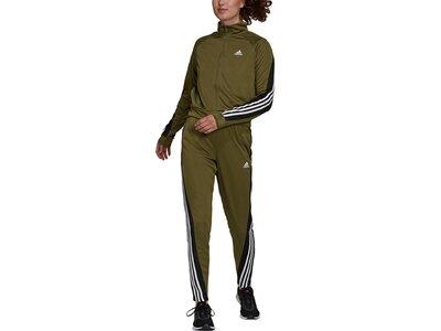 adidas Damen Sportswear Teamsport Trainingsanzug Grau