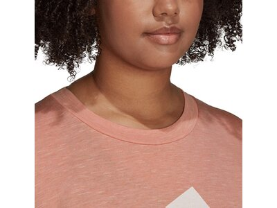 adidas Damen Sportswear Winners T-Shirt 2.0 – Große Größen Braun