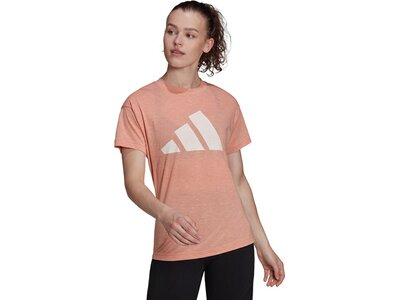 adidas Damen Sportswear Winners T-Shirt 2.0 Braun
