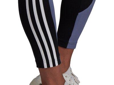 adidas Damen Sportswear Colorblock Tight Grau