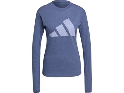 adidas Damen Sportswear Future Icons Winners 2.0 T-Shirt Blau