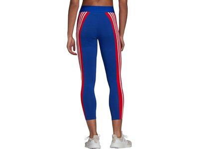 adidas Damen Sportswear Colorblock Tight Blau