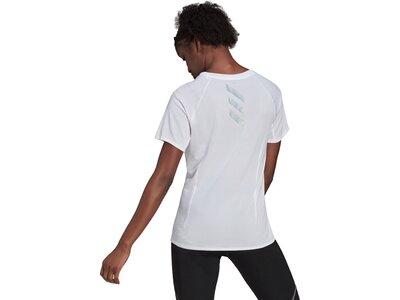 adidas Damen Runner T-Shirt Silber