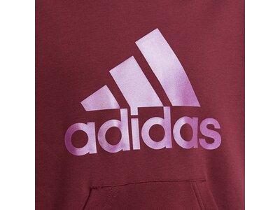 adidas Kinder Future Icons Logo Hoodie Rot