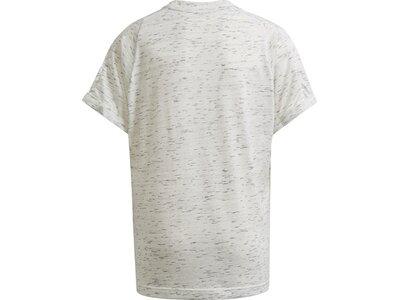 adidas Kinder Future Icons T-Shirt Silber