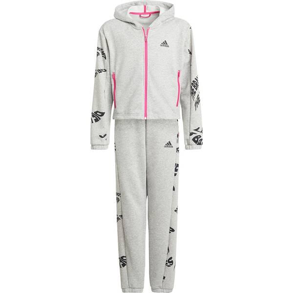 adidas Kinder Hooded Trainingsanzug
