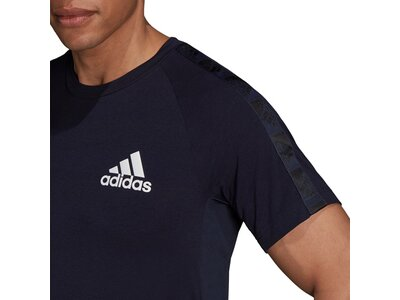 adidas Herren AEROREADY Designed to Move Sport Motion Logo T-Shirt Schwarz