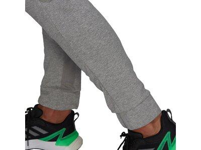 adidas Herren AEROREADY Designed To Move Sport Motion Logo Hose Grau