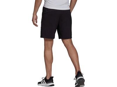 adidas Herren AEROREADY Designed to Move Sport Motion Logo Shorts Schwarz
