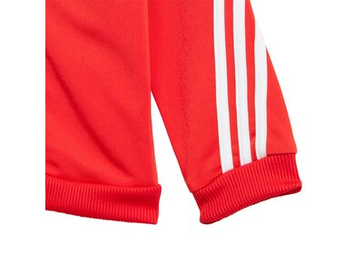 adidas Kinder Future Icons Shiny Trainingsanzug Grau