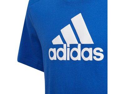 adidas Kinder Logo T-Shirt Blau