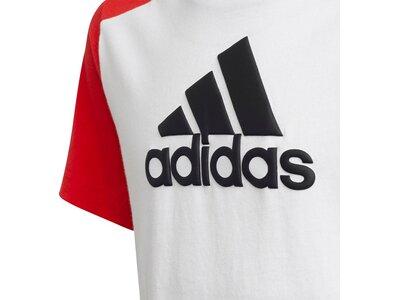 adidas Kinder Logo T-Shirt Weiß