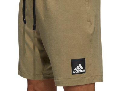adidas Herren City Fleece Trainingsshorts Grau