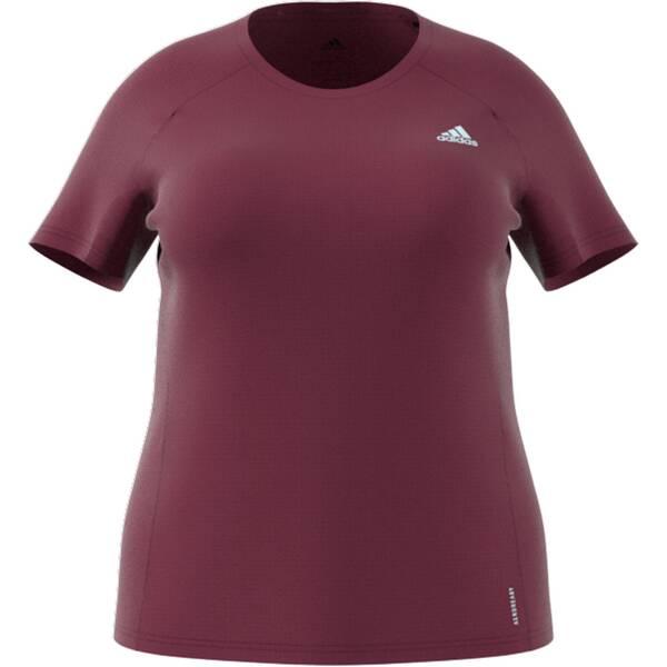 adidas Damen Runner T-Shirt – Große Größen