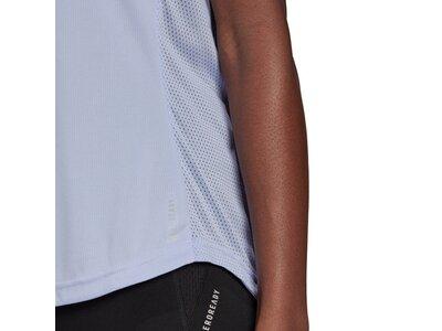adidas Damen Own the Run T-Shirt Blau