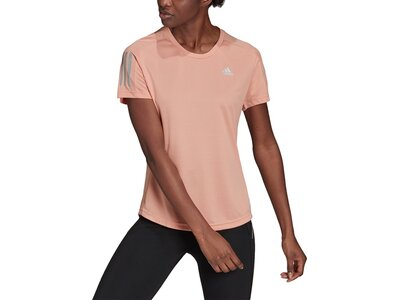 adidas Damen Own the Run T-Shirt Pink