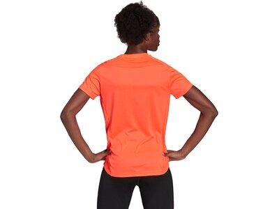 adidas Damen Own the Run T-Shirt Orange