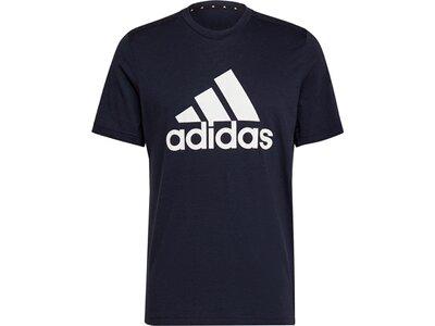 adidas Herren AEROREADY Designed 2 Move Feelready Sport Logo T-Shirt Grau