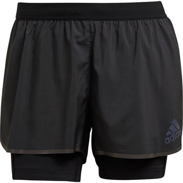 adidas Damen Adizero Two-in-One Shorts