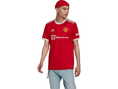 adidas Herren Manchester United 21/22 Heimtrikot Grau