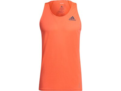 adidas Herren Adizero Primeblue Singlet Orange