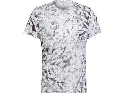 adidas Herren Fast Graphic Primeblue T-Shirt Weiß