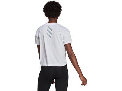 adidas Damen Fast Primeblue T-Shirt Grau
