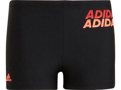 adidas Kinder Lineage Boxer-Badehose Schwarz