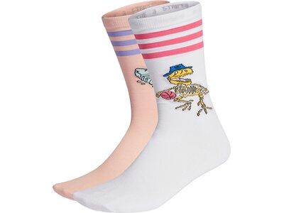 adidas Fun Graphic Socken, 2 Paar pink