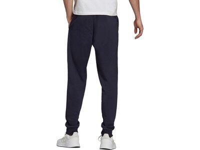 adidas Herren Essentials Fleece Regular Fit Tapered Cuff Hose Schwarz