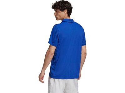 adidas Herren Tennis Club 3-Streifen Poloshirt Blau
