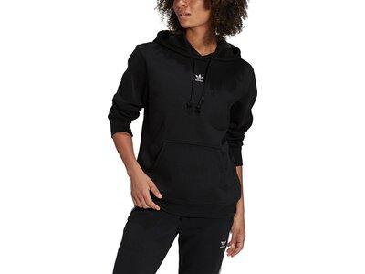 adidas Damen adicolor Essentials Fleece Hoodie Schwarz