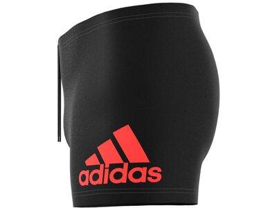 adidas Herren Badge Fitness Boxer-Badehose Schwarz
