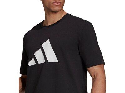 adidas Herren Sportswear Future Icons Logo Graphic T-Shirt Schwarz