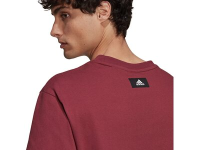 adidas Herren Sportswear Future Icons Logo Graphic T-Shirt Lila