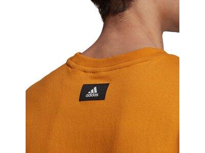 adidas Herren Sportswear Future Icons Logo Graphic T-Shirt Braun