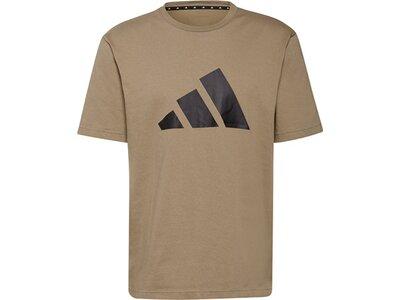 adidas Herren Sportswear Future Icons Logo Graphic T-Shirt Grau