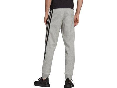 adidas Herren Sportswear Future Icons 3-Streifen Hose Grau