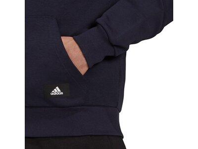 adidas Herren Sportswear Future Icons 3-Streifen Kapuzenjacke Schwarz