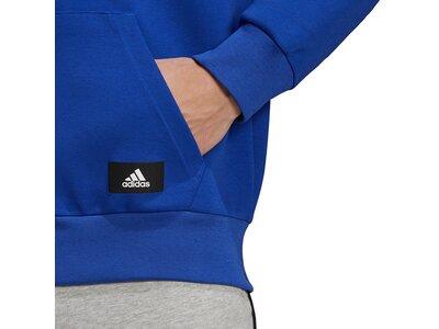 adidas Herren Sportswear Future Icons 3-Streifen Kapuzenjacke Blau