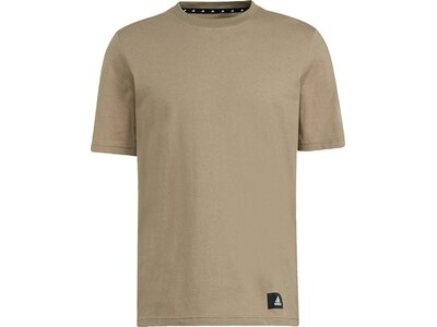 adidas Herren Sportswear Future Icons 3-Streifen T-Shirt Braun