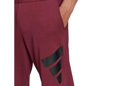 adidas Herren Sportswear Future Icons Logo Graphic Hose Lila