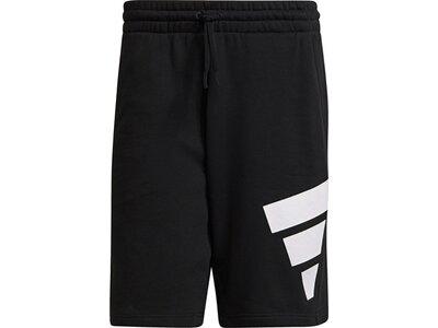 adidas Herren Sportswear Future Icons Logo Graphic Shorts Schwarz
